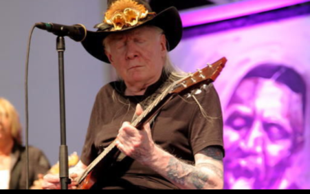 NYC auction to feature blues legend Johnny Winter's guitars