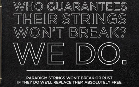 ERNIE BALL REVOLUTIONIZES GUITAR STRINGS WITH PARADIGM