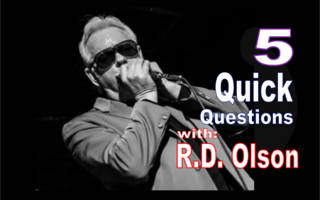 "5 Quick Questions with Harpist R.D. Olson ""The Real Deal"""